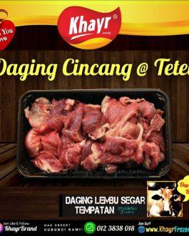 Daging Cincang @ Tetel (400gm)