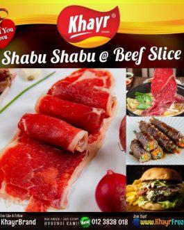 Shabu Shabu @ Beef Slice