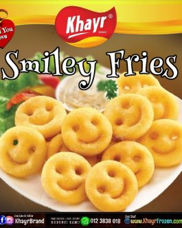 ⌑ Mccain Smiley Fries (550gm)
