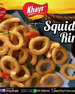 ⌑ Tempura Squid Ring (250gm)