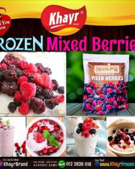 Frozen Mixed Berries (500gm)