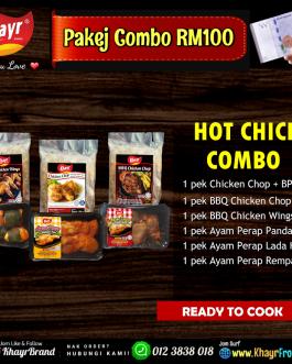 ღ  Pakej RM100 – Hot Chick Combo